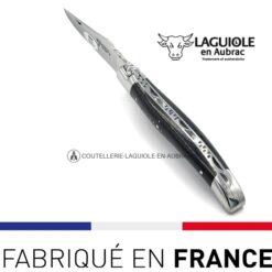couteau de poche laguiole ébène noir