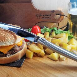 couteau a steak laguiole inoxydable brossé