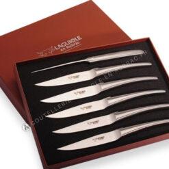 couteaux de table laguiole inox satiné