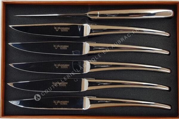couteaux table laguiole inox