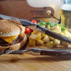 couverts laguiole en aubrac couteaux et fourchettes en bois d'amourette