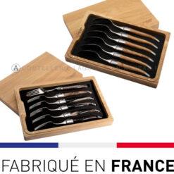 fourchettes et cuillères laguiole inox