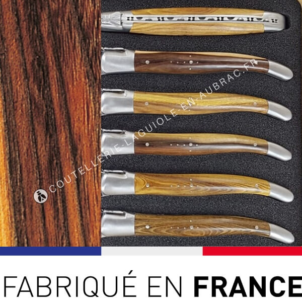fourchettes laguiole bois de pistachier