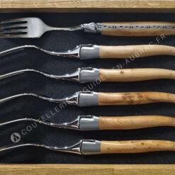 fourchettes laguiole en aubrac genevrier