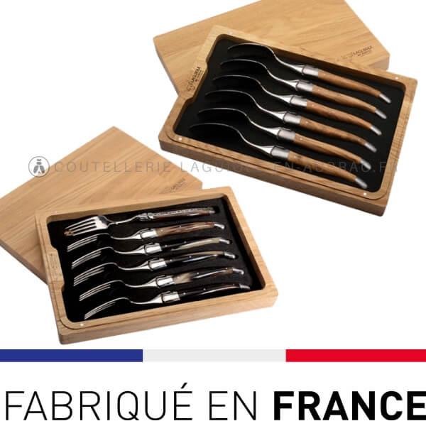 fourchettes laguiole en aubrac woodstock