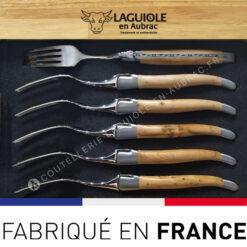 fourchettes laguiole genevrier