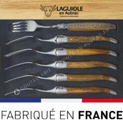 fourchettes laguiole pistachier