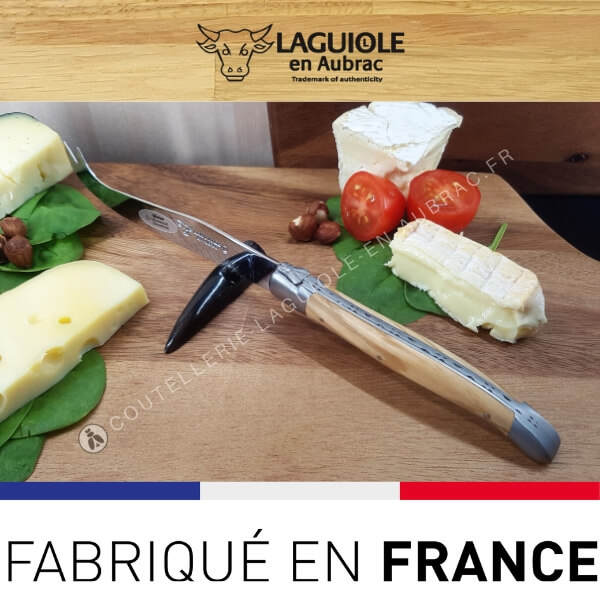 couteau fromage laguiole olivier