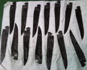 lames damas carbone laguiole