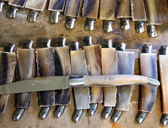 Manches de couteaux