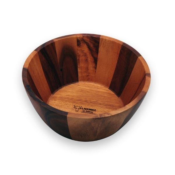 saladier laguiole en aubrac en bois acacia