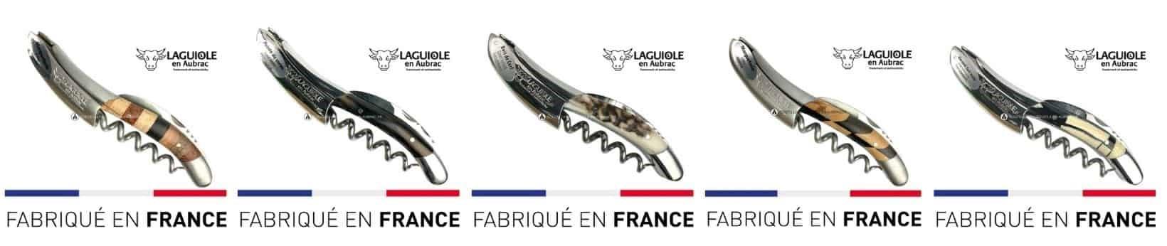 couteau de sommelier laguiole en aubrac