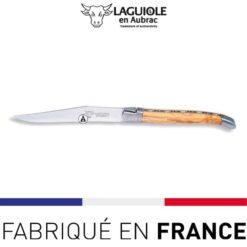 couteau de table laguiole olivier