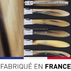 fourchettes de table crocus laguiole en aubrac